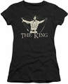 Elvis Presley juniors t-shirt Ornate King black