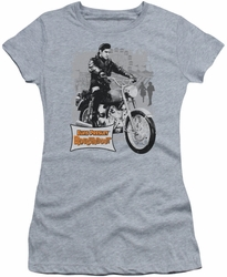 Elvis Presley juniors t-shirt Roustabout Poster heather