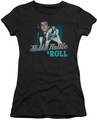 Elvis Presley juniors t-shirt Shake Rattle & Roll black