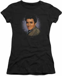Elvis Presley juniors t-shirt Starlite black