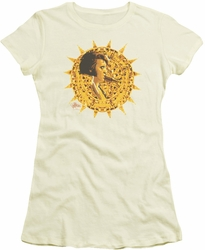 Elvis Presley juniors t-shirt Sundial cream