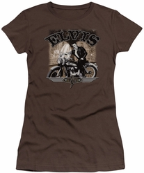 Elvis Presley juniors t-shirt TCB Cycle coffee
