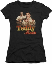 Elvis Presley juniors t-shirt Teddy Bear black