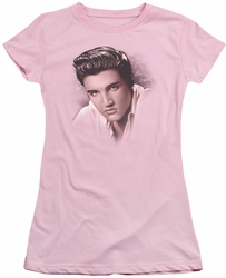 Elvis Presley juniors t-shirt The Stare pink