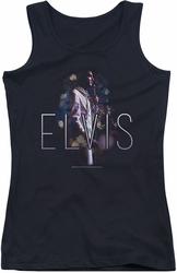 Elvis Presley juniors tank top Dream State black