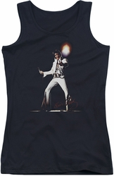 Elvis Presley juniors tank top Glorious black