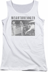 Elvis Presley juniors tank top Heartbreaker white