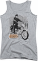 Elvis Presley juniors tank top Roustabout Poster athletic heather