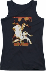 Elvis Presley juniors tank top Showman black