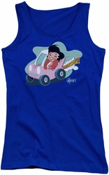 Elvis Presley juniors tank top Speedway royal