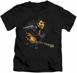 Elvis Presley kids t-shirt 1968 black