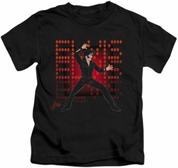 Elvis Presley kids t-shirt 69 Anime black