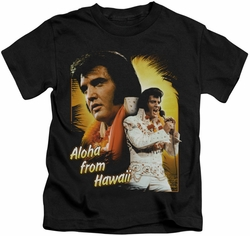Elvis Presley kids t-shirt Aloha black