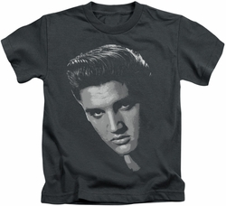 Elvis Presley kids t-shirt American Idol charcoal