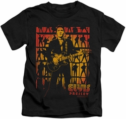 Elvis Presley kids t-shirt Comeback Spotlight black