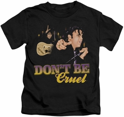 Elvis Presley kids t-shirt Don't Be Cruel black