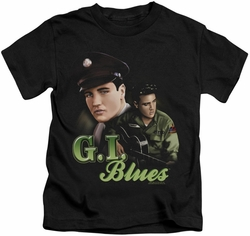 Elvis Presley kids t-shirt G I Blues black
