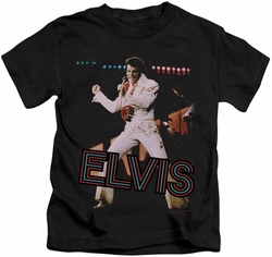 Elvis Presley kids t-shirt Hit The Lights black