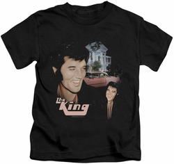 Elvis Presley kids t-shirt Home Sweet Home black