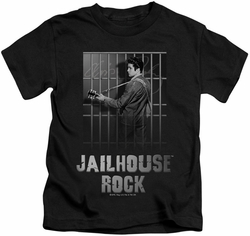 Elvis Presley kids t-shirt Jailhouse Rock black