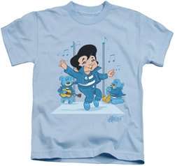 Elvis Presley kids t-shirt Jailhouse Rocker light blue