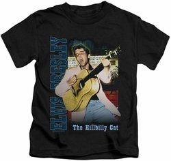 Elvis Presley kids t-shirt Memphis black