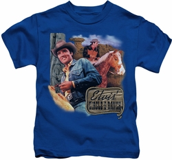 Elvis Presley kids t-shirt Ranch royal