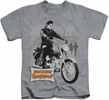 Elvis Presley kids t-shirt Roustabout Poster athletic heather