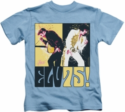 Elvis Presley kids t-shirt Still The King carolina blue
