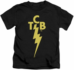 Elvis Presley kids t-shirt TCB Logo black