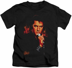 Elvis Presley kids t-shirt Trouble black