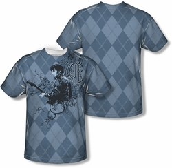Elvis Presley mens full sublimation t-shirt Elvigyle
