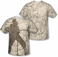 Elvis Presley mens full sublimation t-shirt Its Good To Be King