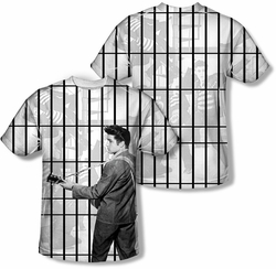 Elvis Presley mens full sublimation t-shirt Whole Cell Block