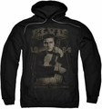 Elvis Presley pull-over hoodie 1954 adult black