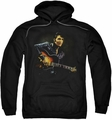 Elvis Presley pull-over hoodie 1968 adult black