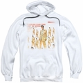 Elvis Presley pull-over hoodie 50 Million Fans adult white