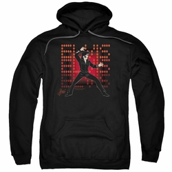 Elvis Presley pull-over hoodie 69 Anime adult black
