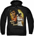 Elvis Presley pull-over hoodie Aloha adult black