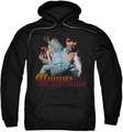Elvis Presley pull-over hoodie Always On My Mind adult black