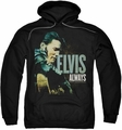 Elvis Presley pull-over hoodie Always The Original adult black