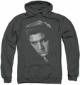 Elvis Presley pull-over hoodie American Idol adult charcoal