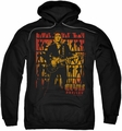 Elvis Presley pull-over hoodie Comeback Spotlight adult black