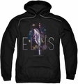 Elvis Presley pull-over hoodie Dream State adult black