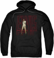 Elvis Presley pull-over hoodie Elvis 68 Album adult black