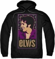 Elvis Presley pull-over hoodie Elvis Is adult black