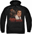 Elvis Presley pull-over hoodie Follow That Dream adult black