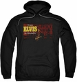 Elvis Presley pull-over hoodie From Elvis In Memphis adult black
