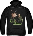 Elvis Presley pull-over hoodie G I Blues adult black