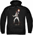 Elvis Presley pull-over hoodie Glorious adult black